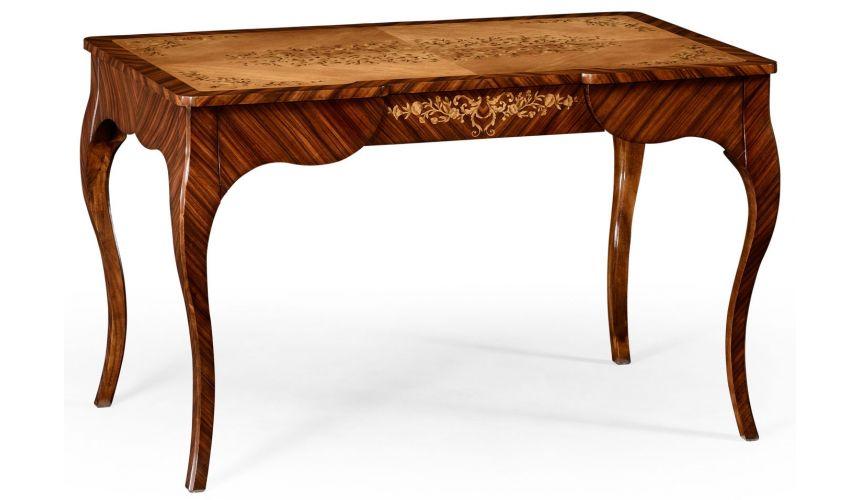 LUXURY BEDROOM FURNITURE Rosewood and satinwood dressing table