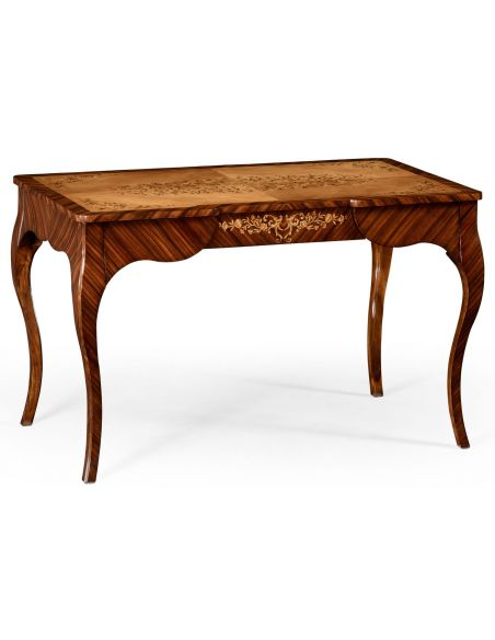 LUXURY BEDROOM FURNITURE Rosewood and satinwood dressing table