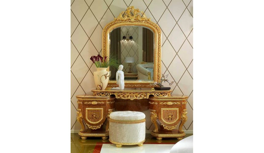 Elegant vanity dresser from our modern day Czar collection