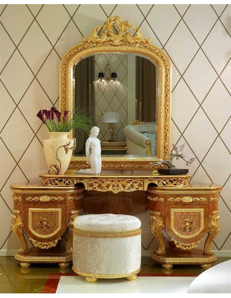 Dressing Vanities & Furnishings Elegant vanity dresser from our modern day Czar collection