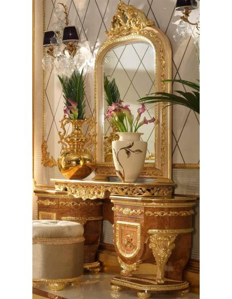 Furniture Masterpieces Elegant vanity dresser from our modern day Czar collection