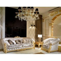 Elegant living room set from our modern day Czar collection
