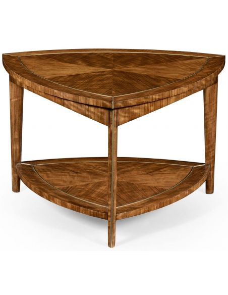 Contemporary Triangular Coffee Table-87