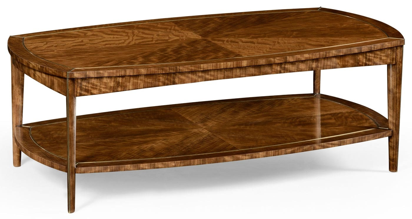 Contemporary Styled Rectangular Coffee Table 88