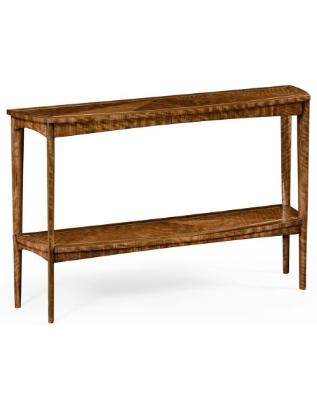Contemporary style Convex Console Table-89