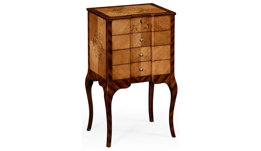 Square & Rectangular Side Tables Rosewood and satinwood Jewelry box dressing chest