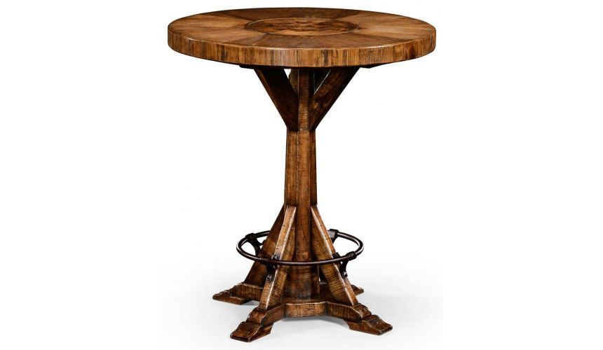 Square & Rectangular Side Tables Country Living Style Round Bar Table-72