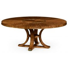 Circular Dining Table with In-built Lazy Susan-79
