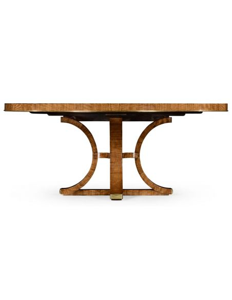 Dining Tables Circular Dining Table with In-built Lazy Susan-79