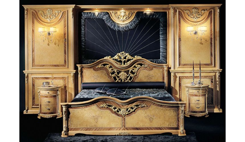 BEDS - Queen, King & California King Sizes Our European Masters collection grand master bedroom