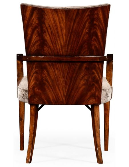 Dining Chairs Biedermeier style mahogany dining armchair