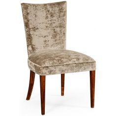 Biedermeier style mahogany dining side chair