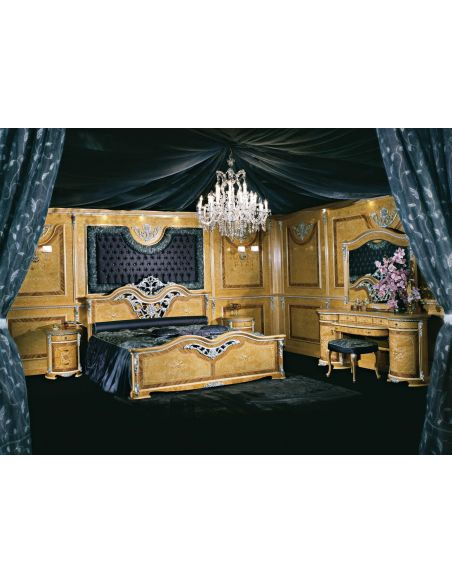 Furniture Masterpieces The grand vanity and mirror is a classical look