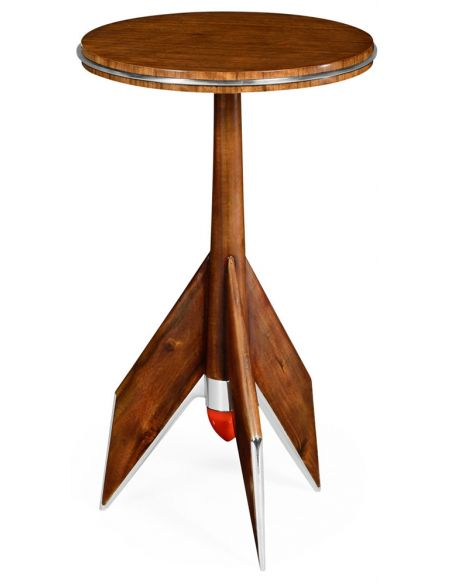 Round & Oval Side Tables Tailfin lamp table.