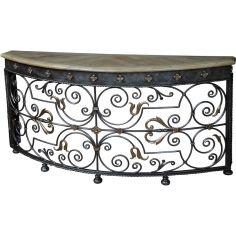 Bracket Mounted Ornate Table