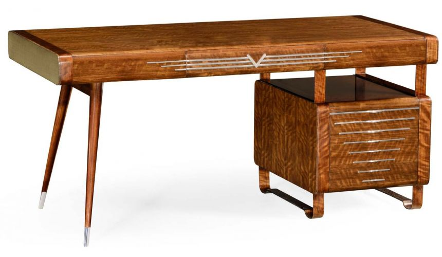 Executive Desks 50's Americana pedestal desk.