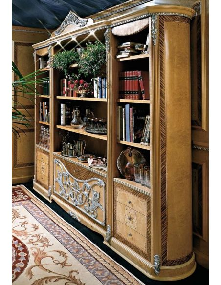 Bookcases Our European Masters collection desk and library
