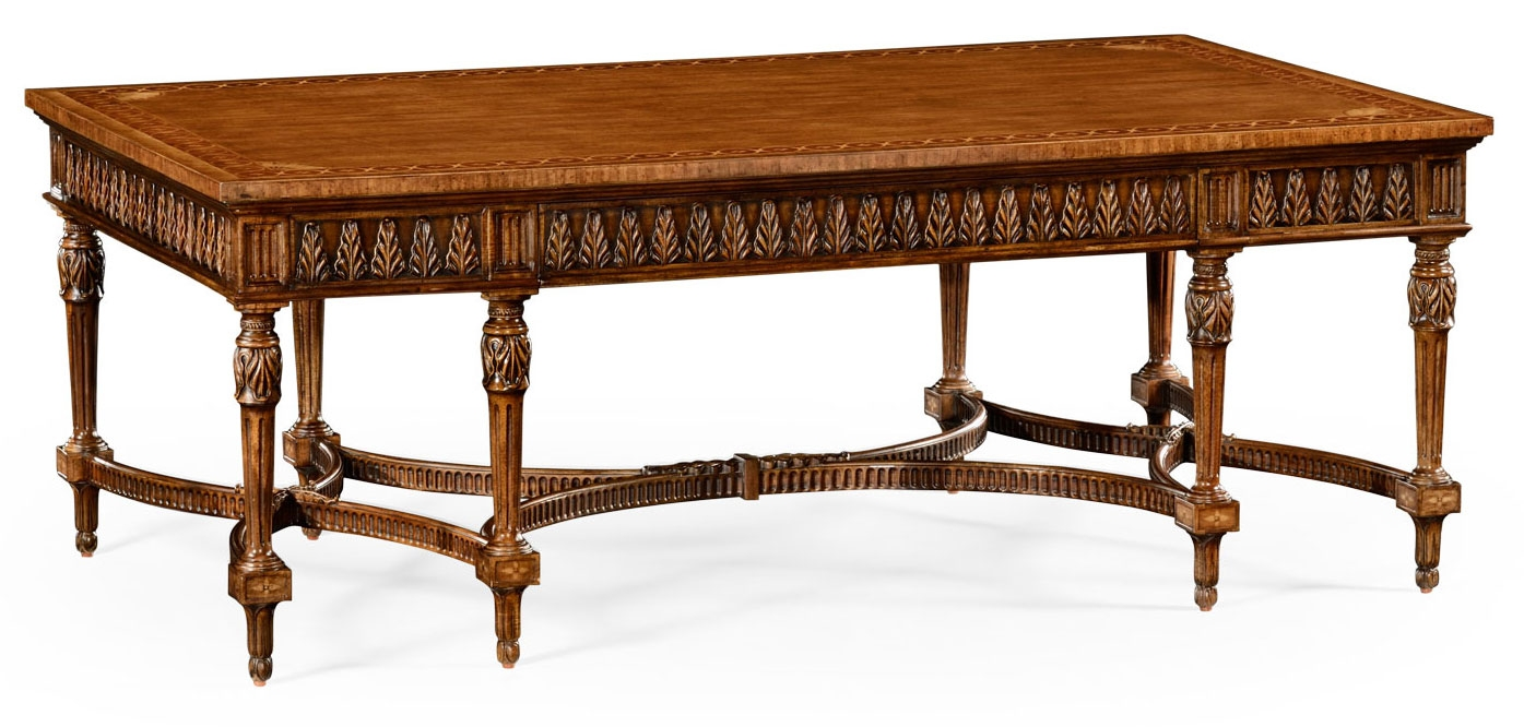 Rectangular French Style Coffee Table 93