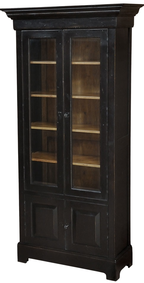 Bookcases Dark Wood Bookcase