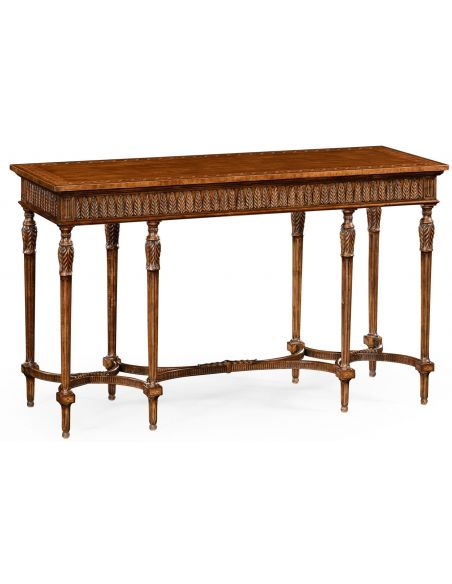 Console & Sofa Tables Napoleon III style console table with fine inlay