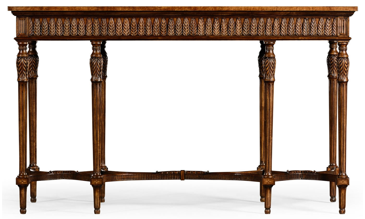 Napoleon iii style console table with fine inlay for Html table style