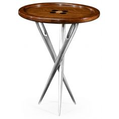 """""""Cute as a Button"""" side table."""