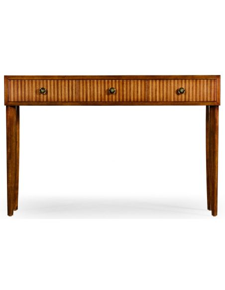 "Console & Sofa Tables \\""Shirting Stripe\\"" console"
