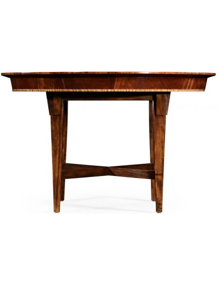Dining Tables Craftsman's mahogany round table