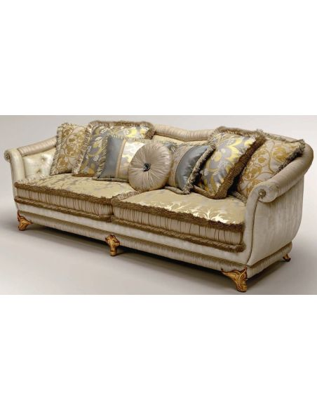 SOFA, COUCH & LOVESEAT 2-Seater Sofa with Curved Backrest