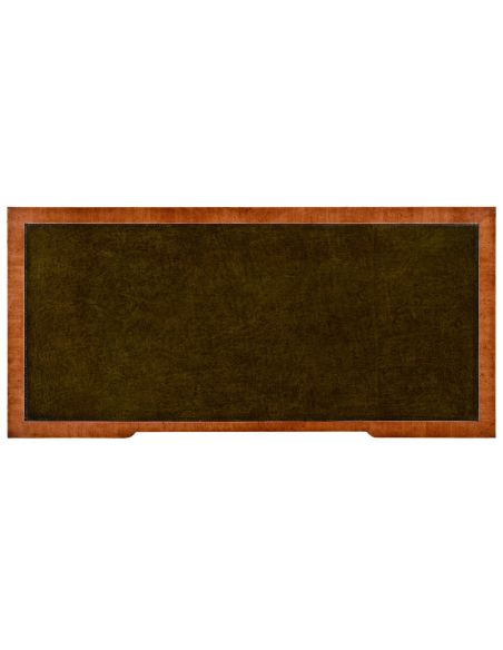 Executive Desks Sheraton style mahogany bureau plat
