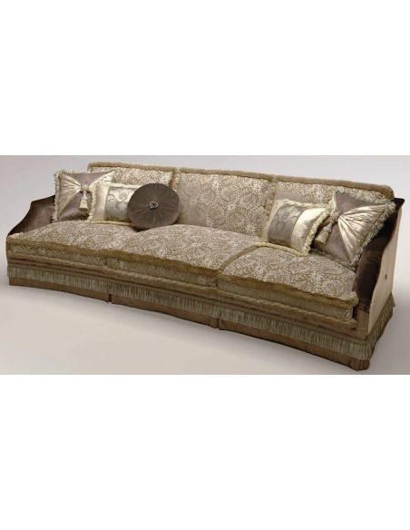 SOFA, COUCH & LOVESEAT Upholstered 3-Seater Sectional Sofa