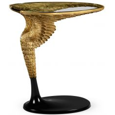 Empire style flying wing side table