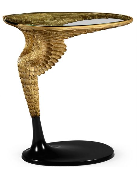 Round & Oval Side Tables Empire style flying wing side table