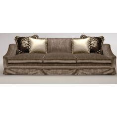 Upholstered Sofa with Curved Arms