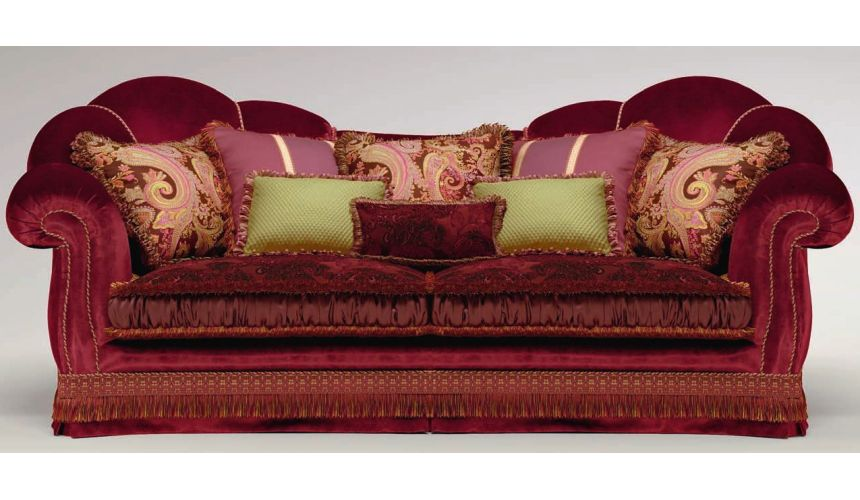 SOFA, COUCH & LOVESEAT Swanky Upholstered Sofa