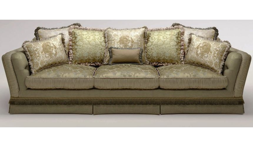 SOFA, COUCH & LOVESEAT Elegant Upholstered Sofa