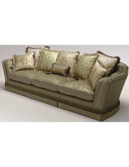 SOFA, COUCH & LOVESEAT Elegant Upholstered Sectional Sofa
