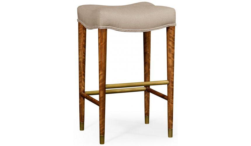 Home Bar Furniture Modern barstool upholstered seat