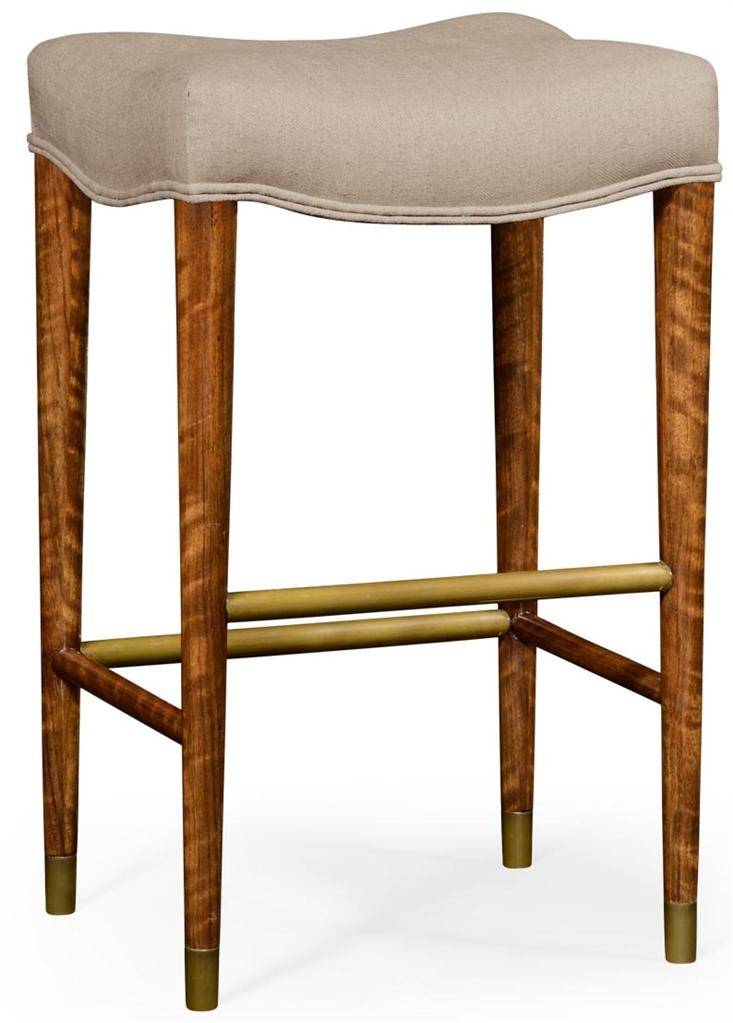 Modern Barstool Upholstered Seat
