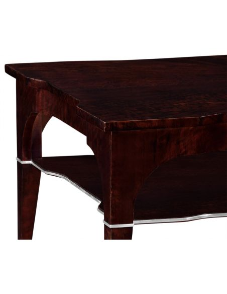 Coffee Tables Stylish Coffee Table with Shelf