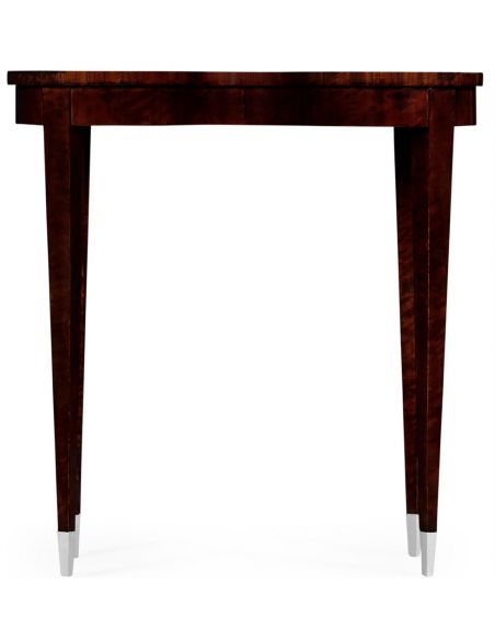 Square & Rectangular Side Tables Kidney Shaped Accent Table