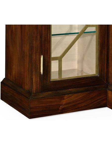 Breakfronts & China Cabinets 4-Door Display Cabinet