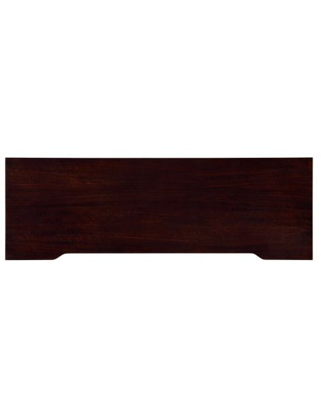 Rectangular Console Table with Tapered Legs