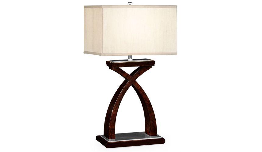 Decorative Accessories Cress- Cross Table Lamp