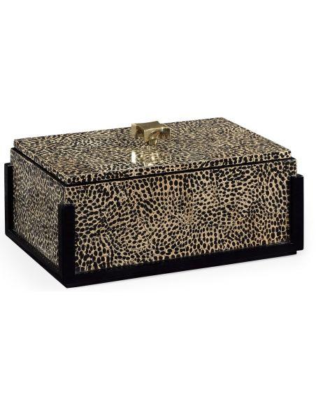 Decorative Accessories Patterned Rectangular Box