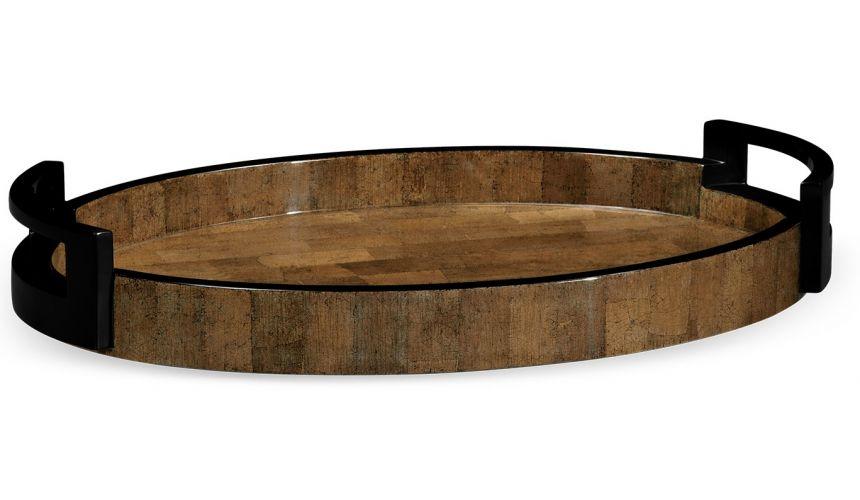 Decorative Accessories Stylish Elliptical Tray