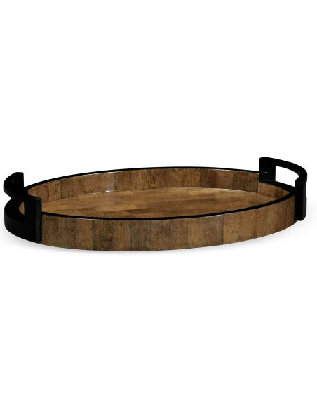 Decorative Accessories Stylish Elliptical Tray