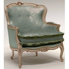 Cushion Upholstered Wingback Armchair
