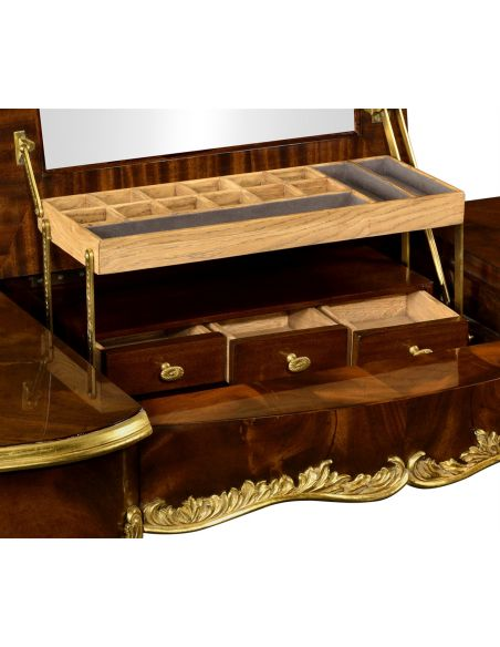 Dressing Table with Cabriole Legs