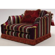 Patterned Extended Armchair